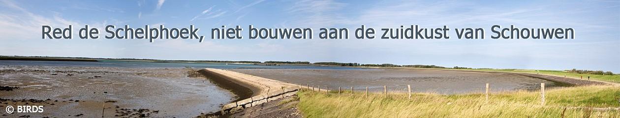 Red de Schelphoek, niet bouwen aan de zuidkust van Schouwen